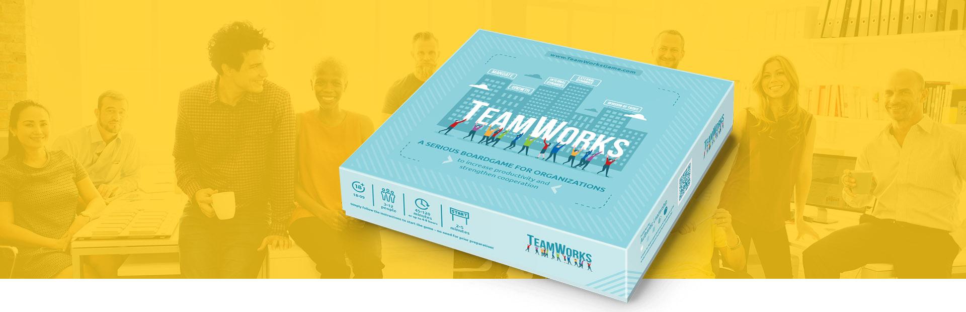 TeamWorks - társasjáték készítés