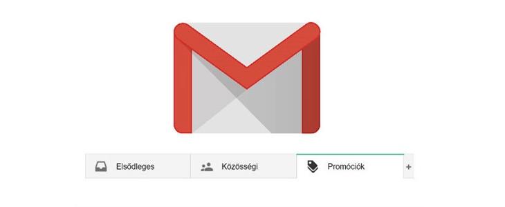 Gmail promóciók