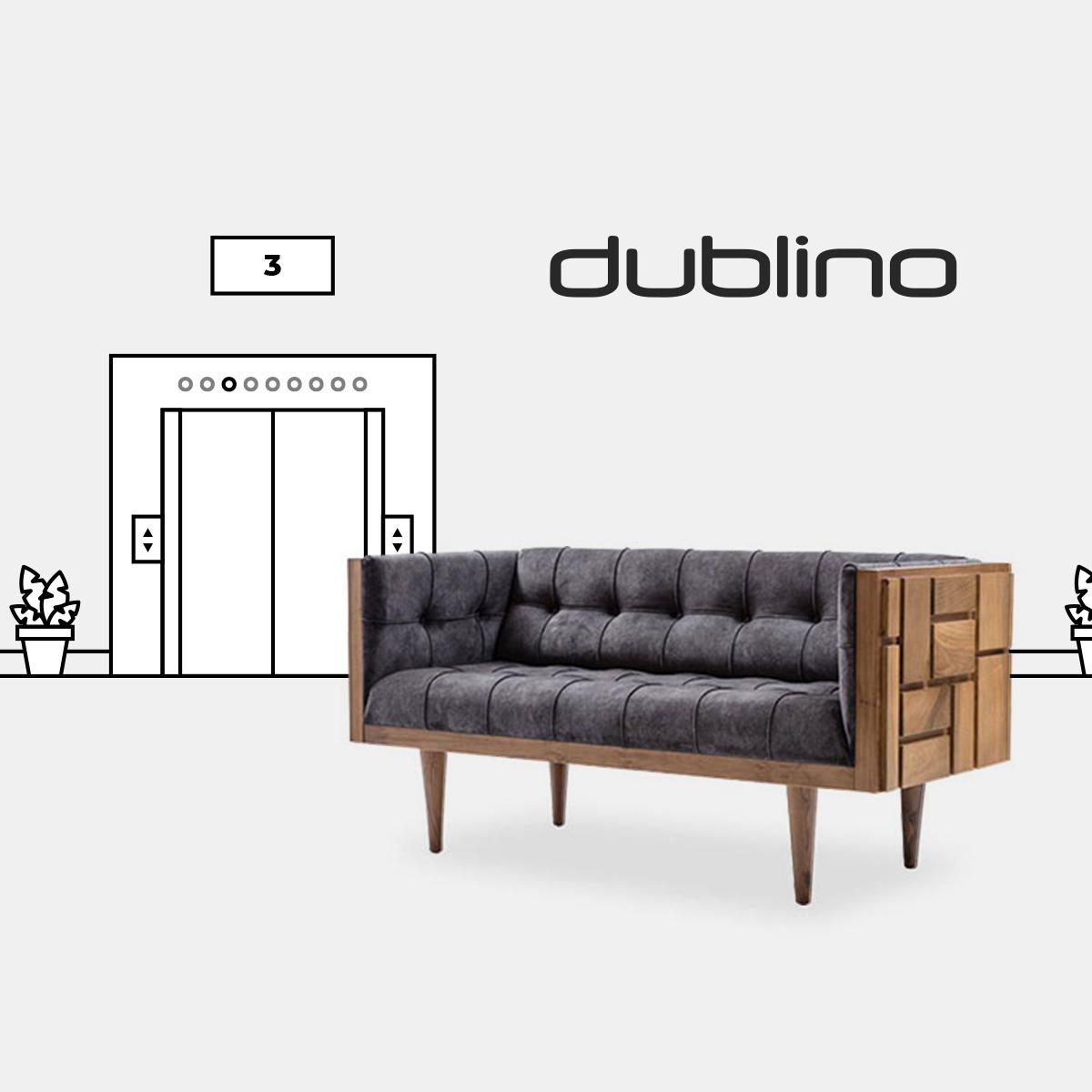 Dublino hotel lobby kampány 2020 - Doppio Creative