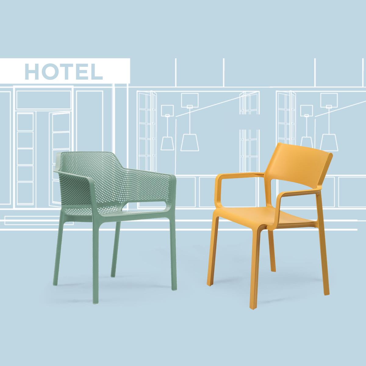 Dublino kültéri műanyag szék kampány 2019 - Doppio Creative