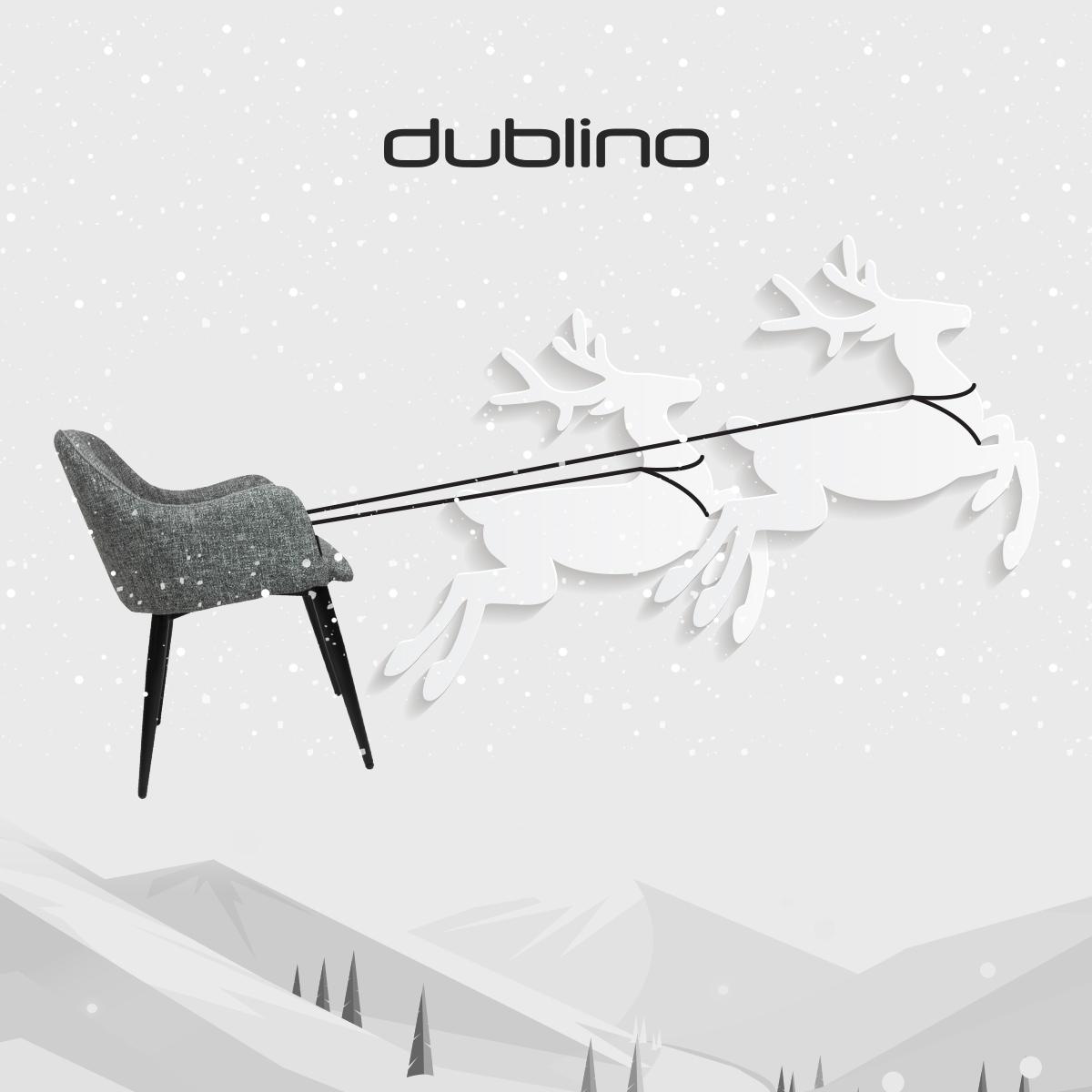 Dublino karácsonyi hirdetés 2019 - Doppio Creative