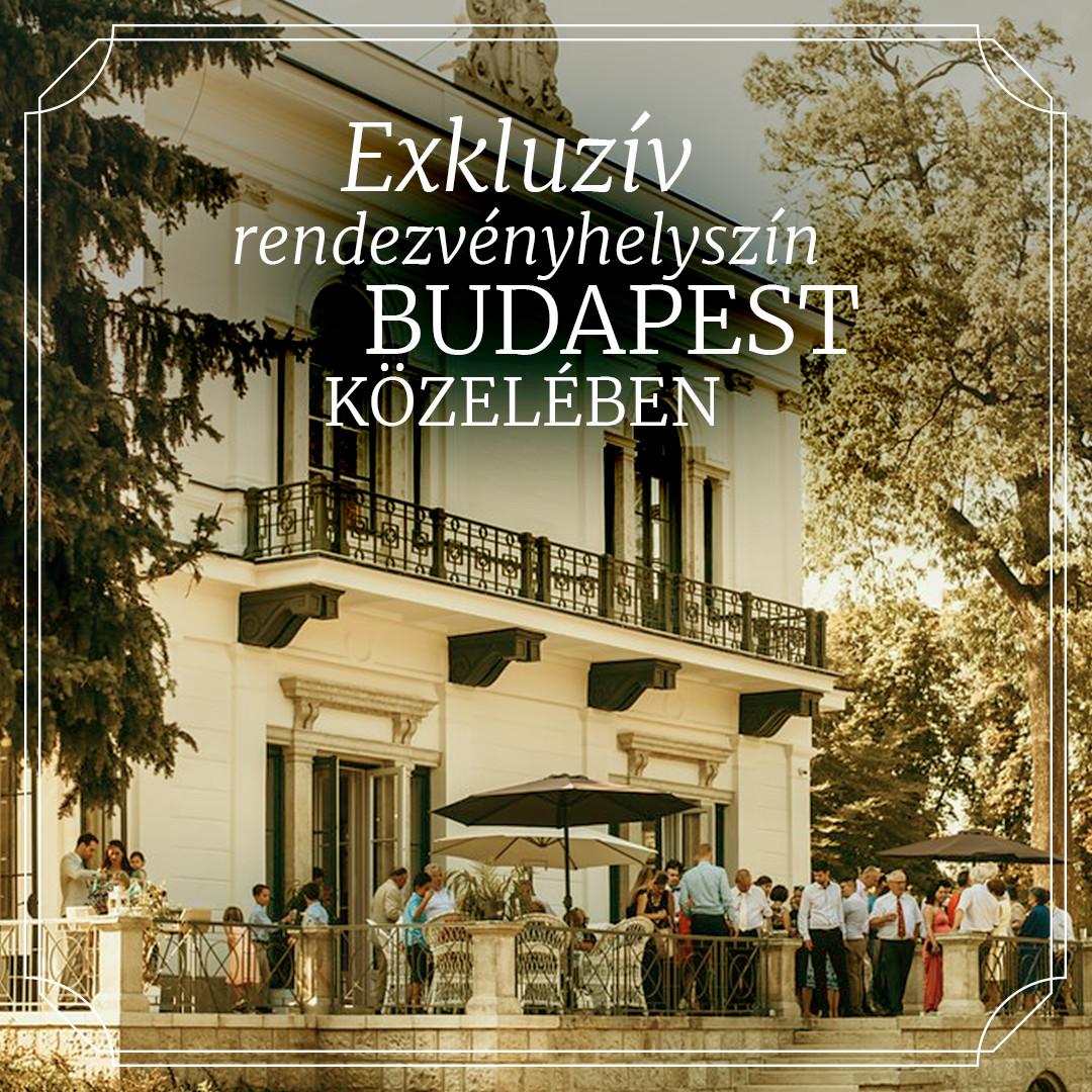 Exkluzív rendezvényhelyszín Budapest közelében - Online hirdetés