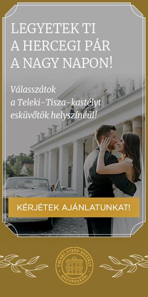 Online hirdetés - álló banner - Teleki-Tisza-kastély