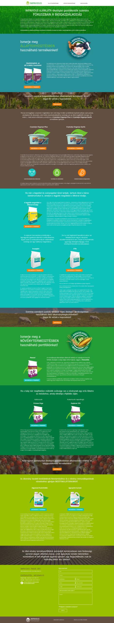 biogazdalkodas_WordPress_weboldal_fejlesztes