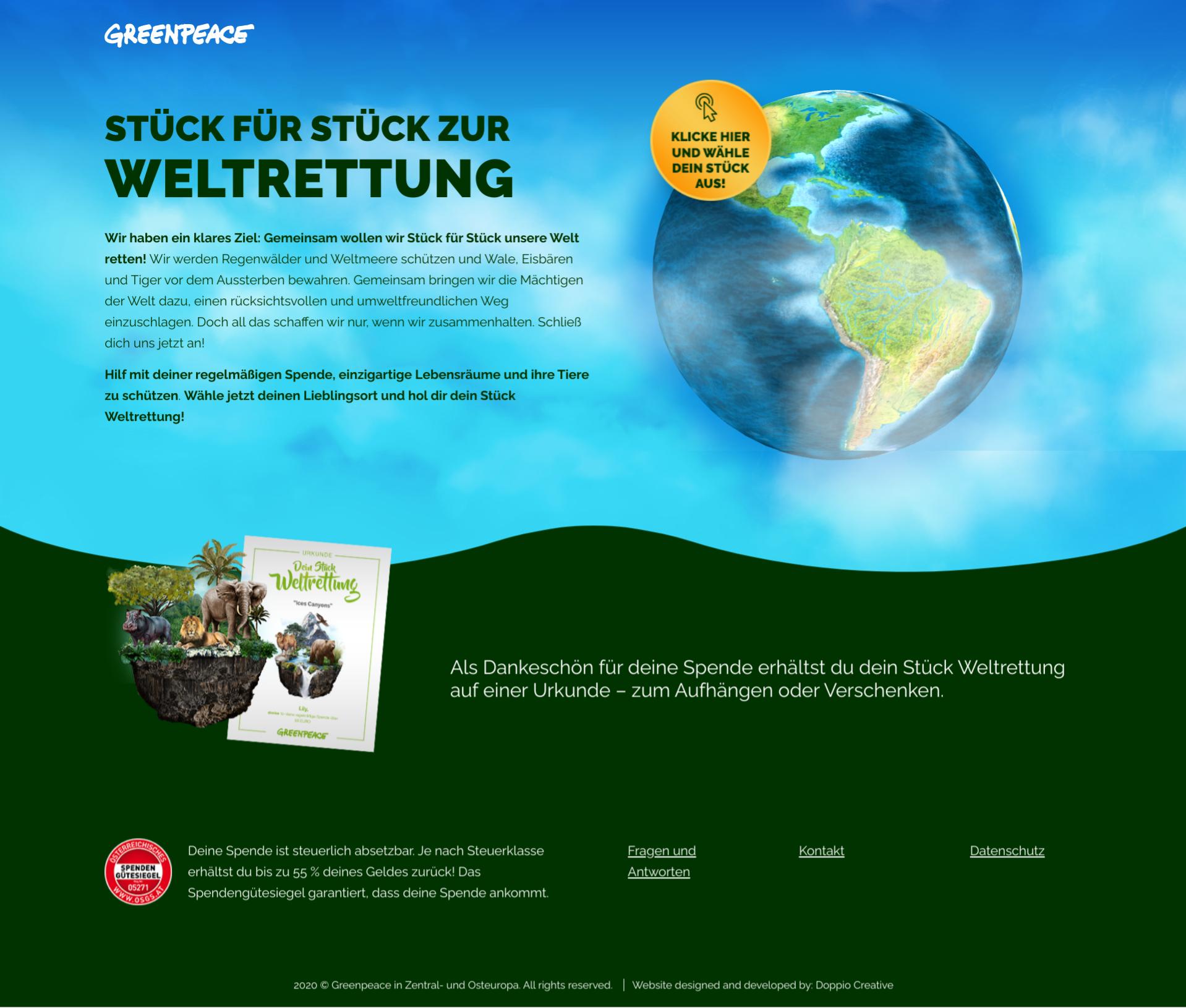 Greenpeace Weltrettung